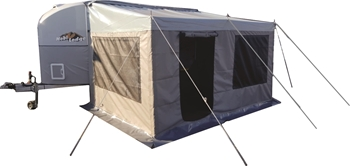Picture of Custom CTS3 3x tent sides to fit standard canvas awning