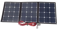 Picture of Flexopower Mojave120 120watt foldable solar panels with integrated stand and regulator