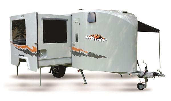Picture of Mobi Lodge Liberty 2019c-spec adventure caravan including standard kit, with wheelchair spec:
