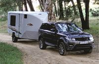 Picture of Mobi Lodge Custom 2019c-spec adventure caravan including standard kit at base price of R438 000 (valid from 28Jun2019), plus your choice of luxury & off-road options. (2019c Spec includes new sliding room with bigger windows, re-positioning of microwave, upgraded axle to 2.8tons, upgraded hitch, upgraded nose wheel).
